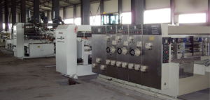 Линия BOXMAKER-820FGC на производстве